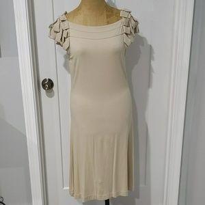 Cynthia Rowley Shift Dress with Ruffled Cap Sleeve